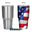 American Flag 30 oz. Tumbler Full Wrap