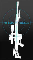 Barrett MRAD Decal Sticker