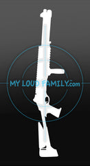 Benelli M4 C01 Decal Sticker