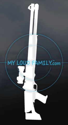 Benelli M4 Tactical Decal Sticker