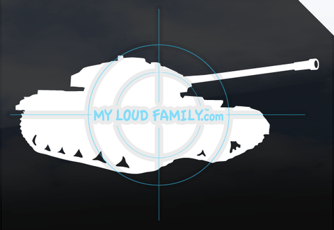 Centurion MK 3 Tank Decal Sticker