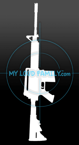 DPMS AP4 308 Decal Sticker