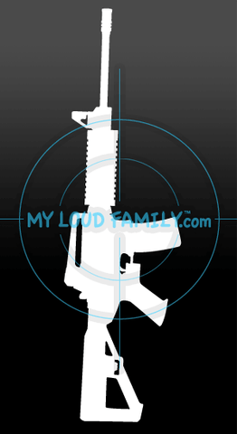 DPMS Oracle with Slide Fire Stock Decal Sticker