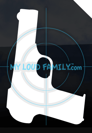 FN Browning M1900 Decal Sticker