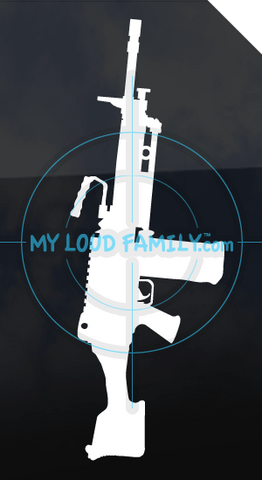 FN Minimi Para Decal Sticker