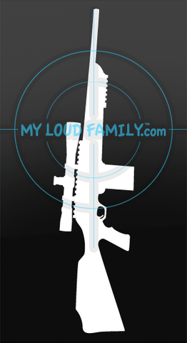 FNAR 308 Winchester with Scope Decal Sticker