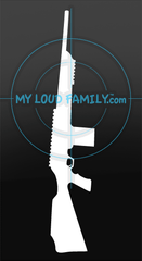 FNAR 308 Winchester Decal Sticker