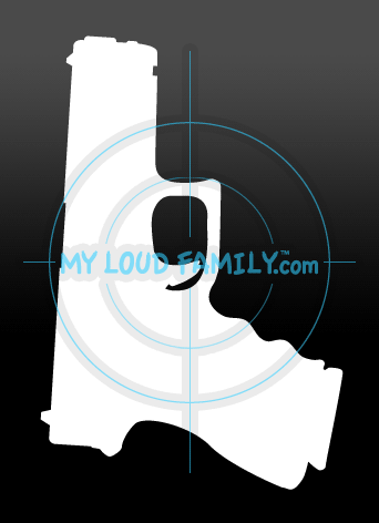 Gun Decal 23 - 3rd Gen Decal Sticker