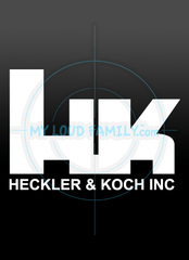 Heckler & Koch HK Decal Sticker