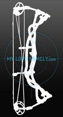 Hoyt Bow Decal Sticker