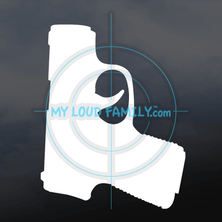 KAHR P380 Decal Sticker