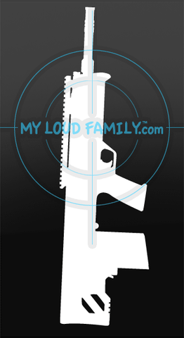 Kel Tec RFB 308 Bullpup Decal Sticker
