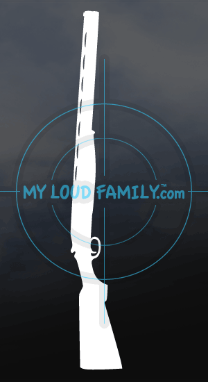 Lanber Shotgun Decal Sticker