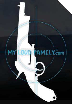 LeMat Revolver Decal Sticker