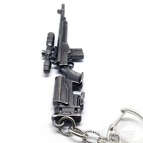 M1A SOCOM ON A J Rifle Metal Keychain