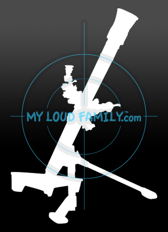 M252 81 mm Mortar Decal Sticker