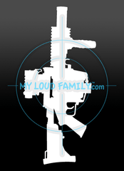 M32A1 Grenade Launcher Decal Sticker