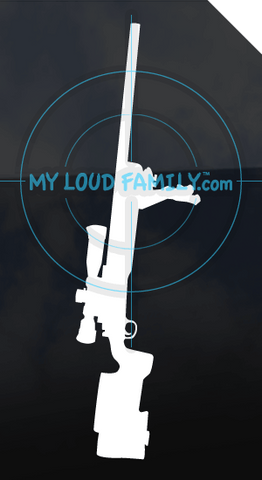 M40A3 USMC Sniper Rifle Decal Sticker