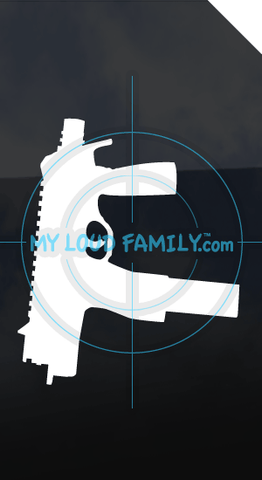 MP9 A1 Folded Stock Decal Sticker