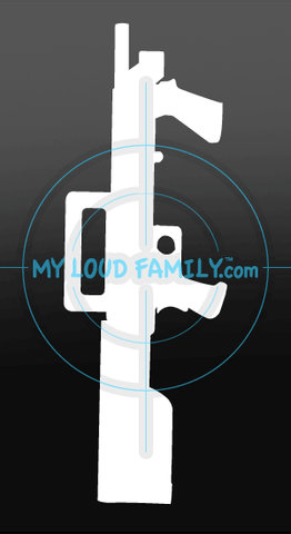 Mossberg 500 Bullpup Decal Sticker
