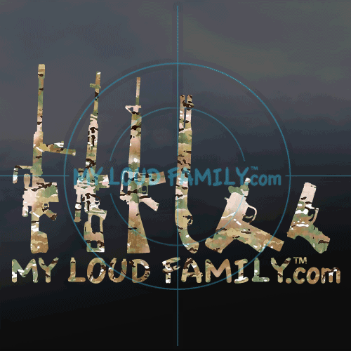 Crye Multi-cam Gun Family Decal Stickers