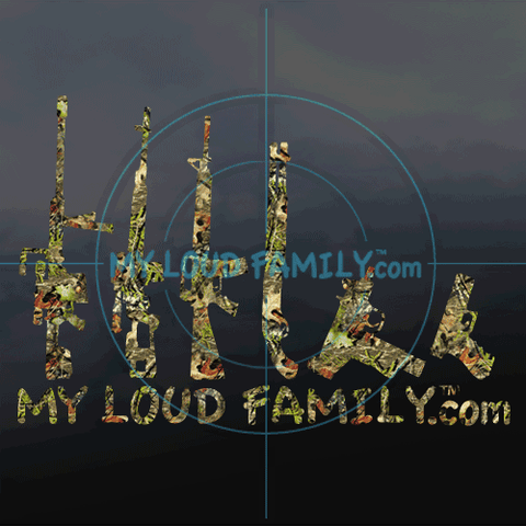 Mossy Oak Gun Family Decal Stickers