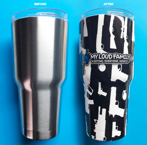 My Loud family 30 oz. Tumbler Full Wrap