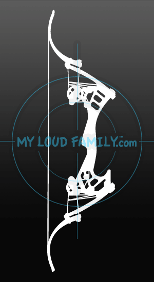 Oneida Kestrel Bow Decal Sticker My Loud Family Llc