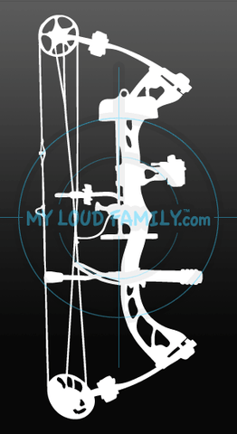 PSE Stinger 3G Compound Bow Decal Sticker