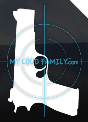 Browning HI Power Decal Sticker