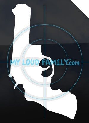 Ruger GP100 38 Special 357 Mag Decal Sticker