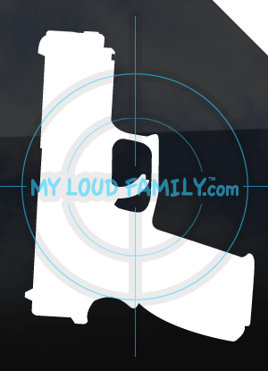Springfield XD 9mm Decal Sticker