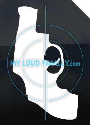 Taurus Snub Nose 38 Decal Sticker