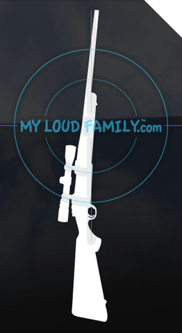 Ruger 77 MKII with Scope 270 Decal Sticker