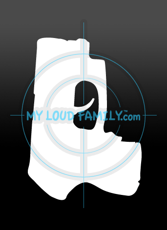 Ruger LCP 380 with Laser Decal Sticker