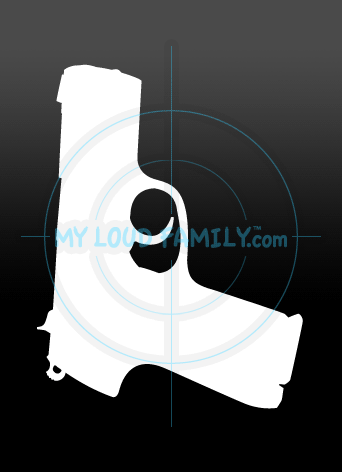 Ruger P 95 Decal Sticker
