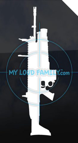 SCAR - H STD FN40GL-H Grenade Launcher Decal Sticker