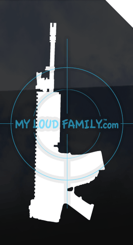 SCAR - L STD Folded Stock Decal Sticker