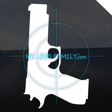 Sig Sauer P226 X5 Allround 9mm Decal Sticker