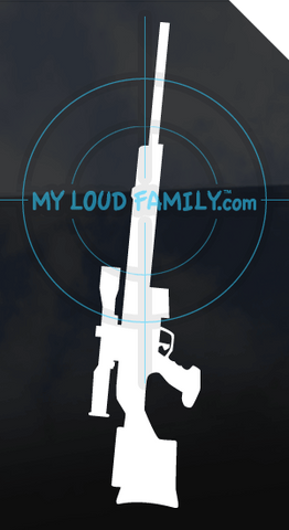 HK PSG1 Decal Sticker