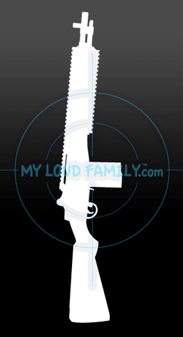 Springfield M1A SOCOM II Decal Sticker