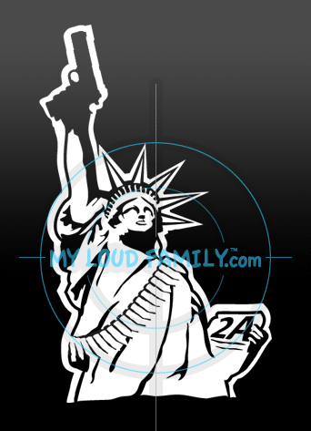 Statue of Liberty with 1911 Decal Sticker