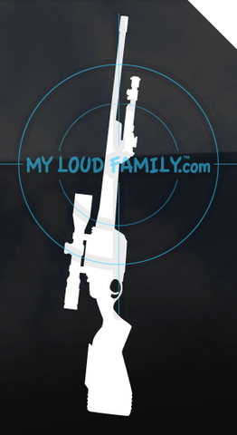 Steyr SSG with Scope Decal Sticker