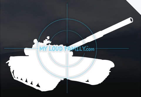T72 Tank Decal Sticker