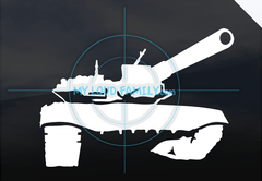 T90 Tank Decal Sticker