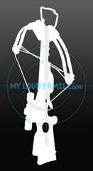 Titan Extreme Crossbow Decal Sticker