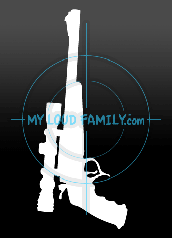 Thompson Center Contender Pistol with Scope Decal Sticker