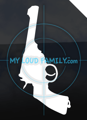 Webley Revolver .455 Decal Sticker