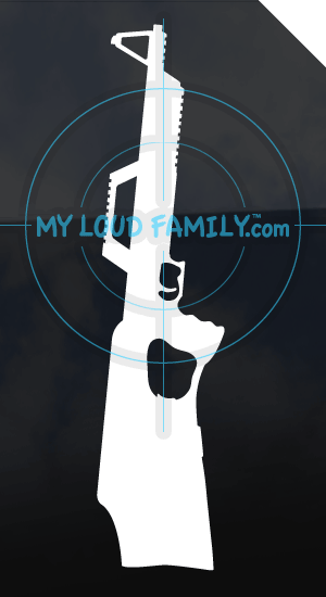 Walther G22 - .22 Long Rifle BullPup Decal Sticker