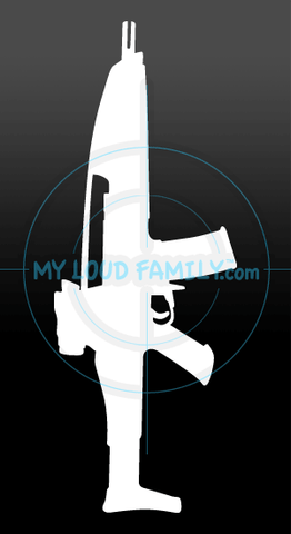 XM8 Baseline Carbine Decal Sticker